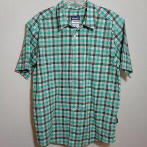 Patagonia Men's Checked Short-Sleeve Shirt M